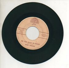 BOBBY FREEMAN 45 RPM Record BIG FAT WOMAN / SO YOU WANT TO DANCE Rock 'n' Roll
