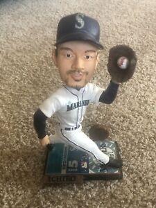 Ichiro Suzuki Bobblehead Doll Seattle Mariners ~ Hard To Find Piece