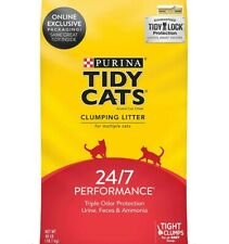 Odor Control 24/7 Performance Multi Clumping Cat Litter, 40 lb Bag