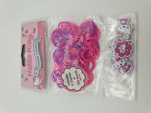 Hello Kitty Loom Bands And Charms Purple & Pink Kids crafts art