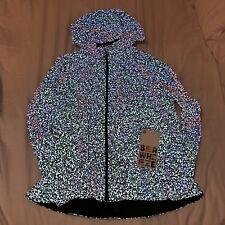 RARE 2018 Lululemon Seawheeze Reflective Pack It Up Jacket Womens Size 10