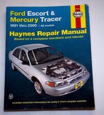 Ford Escort & Mercury Tracer 1991-2000 All Models Haynes Repair Manual