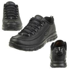b4dd65332eae Skechers Sure Track-trickel Slip Resistant Lace up Lady Work Shoe Black 5uk    38eu