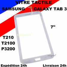 "VITRE ECRAN TACTILE SAMSUNG GALAXY TAB 3 7.0"" T210 T2100 P3200 BLANC"