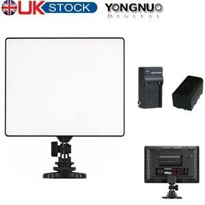 Yongnuo YN300 Air Pro LED Camera Video Light for DSLR Camcorder + Battery Kit
