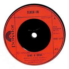 """Teach-In - Ding-A-Dong - 7"""" Record Single"""