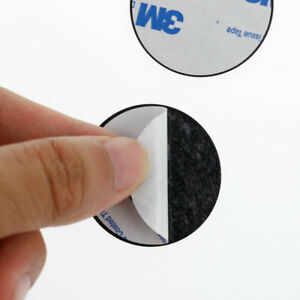Replacement Round Metal Plate with Adhesive for Magnetic Car Mount phone Holder