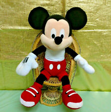"Mickey Mouse Walt Disney Friends Plush Doll Figure 21"" Tall Stuffed Animal"