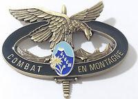 Brevet du CIECM Centre d'instruction et d'entraînement au COMBAT en MONTAGNE