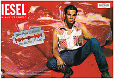 PUBLICITE ADVERTISING   1993    DIESEL    HOW TO REACH PERFECTION ( 2 pages)