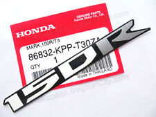 2p 12x120mm HONDA STICKER CBR150 R CS150 FAIRING 150 cc RIGHT MARK black P-T30ZA