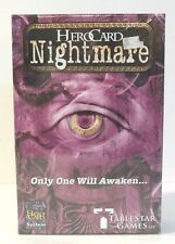 Hero Card System - Nightmare -2007 TableStar Games - Age 13+ 2-4 Players -Sealed