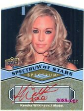 2009 SPECTRUM OF STARS DIE-CUT AUTO: KENDRA WILKINSON #38/50 AUTOGRAPH PLAYBOY