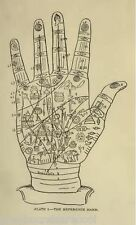 Palmistry Palm Reading Fortune Telling Hands Chiromancy Vintage Books on Disc