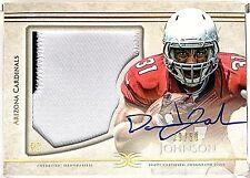 2015 Definitive DAVID JOHNSON RC On Card AUTO Jersey PATCH /50 Cardinals ROOKIE