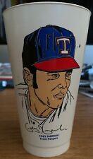 Rare 1973 Toby Harrah Texas Rangers 7-11 Seven Eleven Slurpee Cup Mlb
