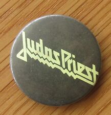 JUDAS PRIEST OLD METAL PIN BADGE FROM THE 1980's RETRO HEAVY METAL