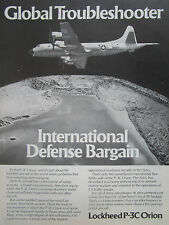 6/1980 PUB LOCKHEED P-3C ORION NAVY ASW MARITIME PATROL AIRCRAFT ORIGINAL AD