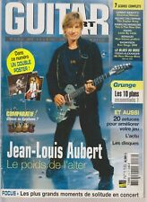 GUITAR PART N°116 JEAN LOUIS AUBERT / 10 PLANS GRUNGE / GIBSON OU EPIPHONE /