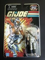 Hasbro Gi Joe 25th Storm Shadow FOIL Carded Figure