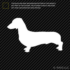 (2x) Dachshund Sticker Die Cut Decal Self Adhesive Vinyl wiener hotdog hot dog