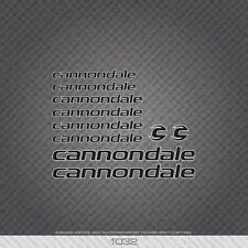 01032 Cannondale Bicycle Stickers - Decals - Transfers