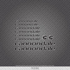 0603 Cannondale R1000 AERO Bicyclette Cadre Autocollants-Decals-Transfers