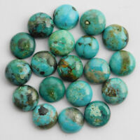 Wholesale Lot Natural Tibetan Turquoise 5x5 mm Round Cabochon Loose Gemstone