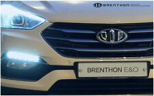 Brenthon Emblem Full Set Grille Trunk 1Set-7ea For 2017+ Hyundai Santa Fe Sport
