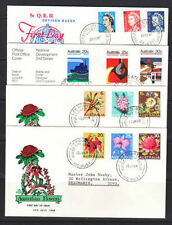 Flowers Australian Stamp Covers