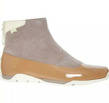 CAMPER Beige & Taupe Leather Ankle Boots, Size 8 Or 41. New. RRP £150