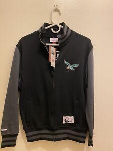 Philadelphia Eagles Mitchell & Ness Throwbacks Varsity Jacket sz Sm New Rare NFL