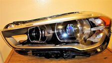 2016 2017 BMW X1 F48 Series Driver SIDE FULL LED Headlight OEM ALL INTACT BARE
