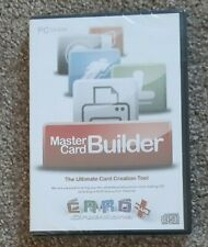 Card Creations Plus PC CD-ROM Master Card BUILDER Ultimate Card Creation Tool