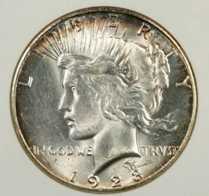 1928-P 1928 Peace Dollar Unc Details ANACS Old Holder Very Lustrous and flashy