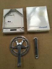 NOS Vintage Campagnolo Fc -01re Record 170 Crankset chain rings 52/42t   52 AS