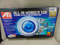 ATI All-In-Wonder Rage 128 16MB RAM AGP   Graphics Card with box and dongle