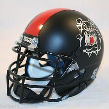 FRESNO STATE BULLDOGS (MATTE BLACK) Schutt XP Mini Helmet