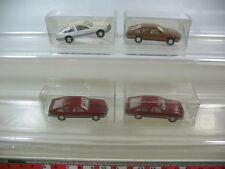 l42-0, 5 #4x Wiking H0 Models / Model Cars, Opel Monza , Top