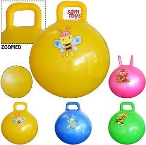 """15"""" Childrens/Kids Space Hopper Jump n' Bounce Ball Bouncing Toy in 50cm"""