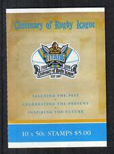 Australia 2008 Rugby League 100th sa bklt--Attractive Sports Topical (2824a) MNH