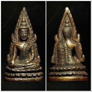 Phra Phutta Chinnaraj Indochina 2485 BE (Pim Tang Kao Bolarn) #USA15 Rare Thai