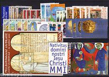 VATICANO ANNATA 2001 COMPLETA NUOVA  MNH**