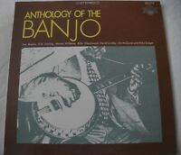 ANTHOLOGY OF THE BANJO VINYL LP ALBUM TRADITION EVEREST RECORDS VARIOUS ARTISTS