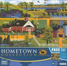 Heronim  Hometown Collection Jigsaw Puzzle Kite Flying at Recess