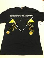 Grace Potter and the Nocturnals Tour Concert Black T Shirt New Adult Small HTF