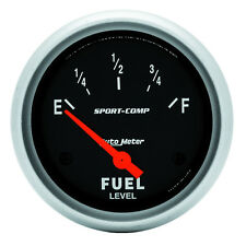 Autometer 3514 Sport-Comp Fuel Level Gauge, 2-5/8 in., Electrical