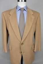 Hart Schaffner Marx Light Brown 100% Camel Hair Two Button Sport Coat Size: 42S