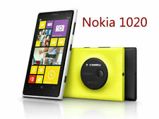 "Unlocked Original Nokia Lumia 1020 yellow 4.5"" 4G Wifi  32GB 41MP Windows Phone"