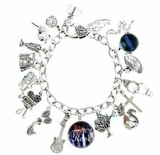 Riverdale TV Series 15 Themed Charms Silvertone Charm Bracelet
